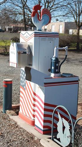 Gas Pump Mailbox