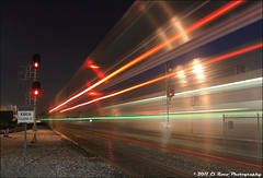 A Cacophony of Light (El Roco Photography) Tags: california railroad sunset santafe station night train canon diesel chief 4 rail trains socal amtrak transportation locomotive orangecounty ge fullerton glint railroads pacificsurfliner passengertrain southwestchief emd superliner atsf burlingtonnorthernsantafe fullertoncalifornia f59phi alltrains amtrakcalifornia bnsfrailroad burlingtonnorthernsantaferailroad fullertontrainstation elrocophotography