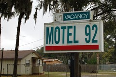Florida, Hillsborough County, Motel 92 (10,470) (EC Leatherberry) Tags: sign florida motel us92 hillsboroughcounty