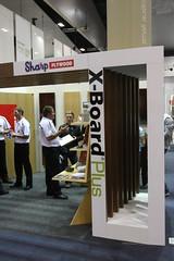 Sharp Plywood XB+ Veneered Booth