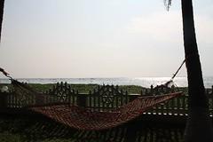 My Hammock beside my cabin (srinistuff) Tags: india kerala cochin backwaters southindia kottayam kumarakom allepy godsowncountry incredibleindia alaphuzza