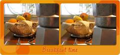 Hey! It's Breakfast time! ([Piccola_iena]) Tags: breakfast time frutta caffè moka colazione