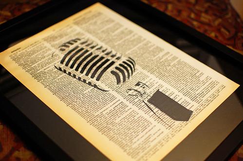 Radio Mic Print