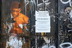 Boxe - Solidarność (johann walter bantz) Tags: visualart detail abondamment plakat affiche fuji fujifilm xpro2 france