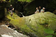 Teen Treks July 5-7 (Audubon Community Nature Center) Tags: teen treks 2017 nature day camp teens bent run waterfall waterfalls creek