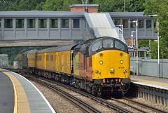 37116 (ianmartian) Tags: class37 37116 colas nr test 1q54 virginiawater eastleigh