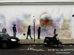 Streetart/graffiti (unusualimage) Tags: graffiti part2ism nottinghill unusualimage