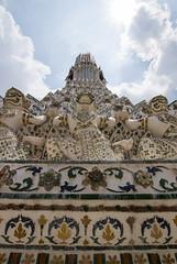 Strong Men (HansPermana) Tags: bangkok thailand temple sacred historic buddhist city cityscape architecture