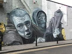 Graffiti in the Brick Lane area of Shoreditch (Ian Press Photography) Tags: graffiti brick lane area shoreditch street art streetart london