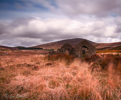Wicklow Wilderness (Leo Bissett) Tags: wicklowmay2015 rural wicklow wilderness decay church ruin history historical ancient ireland sky cloud landscape heather