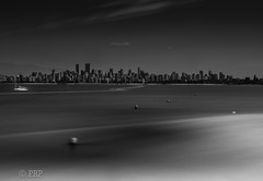 Follow The Wake Of The Invisible Boat To The City (Photo Righter Photography) Tags: beautifulbritishcolumbia cityscape beautifularchitecture longexposure lightroom6 englishbay vancouver bw midday vancouverpride yvr veryvancouver vancity explorebc discovervancouver narcityvancouver vancitywild vancityliving vancityhype vancitybuzz vancityart yvrart