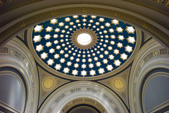 Royal Bank of Scotland Headquarters - Banking Hall, Edinburgh (David_Leicafan) Tags: 21mmcv edinburgh bank sirwilliamchambers interior dome cupola johndickpeddie royalbankofscotland rbs