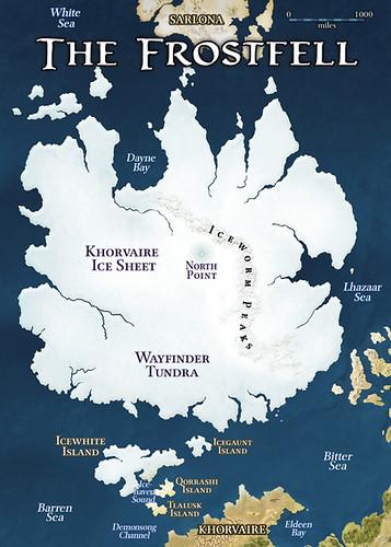 Map of Frostfell