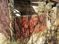 Ghost Sign at the stables in Fairbank, Arizona  (Millers High Life) (JuneNY) Tags: ghosttown ghostsign cochisecountyarizona fairbankarizona