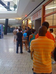 iPhone 4 Apple Store Line at Fair Oaks Mall,  Washington, DC Metro area June 24, 2010 6:30 am #2 (aeleazer1(Busy,Off/On)!!!) Tags: camera blue light sky sun white black color green art apple colors yellow mobile upload mall virginia blog dc washington interestingness interesting day random picture applestore explore smartphone dcist daytime fairfax fairfaxvirginia effect tagging catchy api washdc facebook iphone ipad fairfaxco fairfaxcounty metroarea twitter colorpicture fairoaksmall infinitescroll iphone4 iphonecamera iphonepicture flickriver iphonography iphoneart aeleazer1 0s4 aeleazer andreeleazer