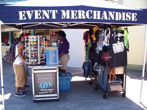 Cedar Point - Rock Band Live Merchandise