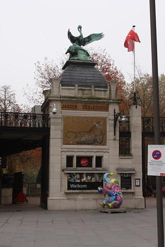 Antwerp Zoo entrance. Antwerp.