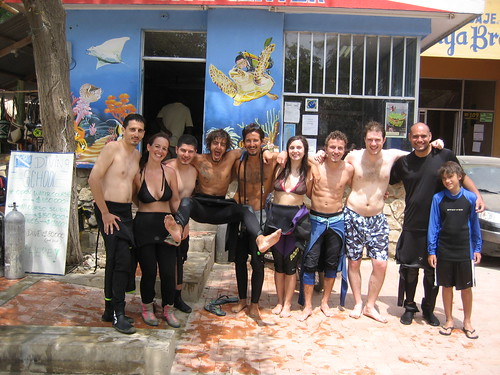 Taganga - retour de plongée