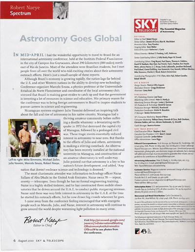 Marcelo na sky and telescope2