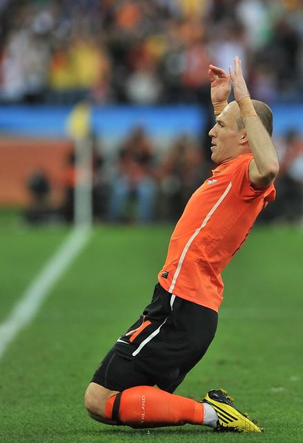 Holanda Eslovaquia Mundial Sudáfrica Arjen Robben