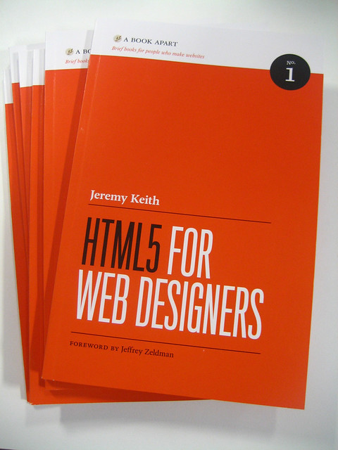 Jeremy Keith's HTML5 for Web Designers