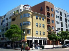 walkable, transit-accessible, mixed-use in San Diego's Little Italy (by: LA Wad/Chris, creative commons license)