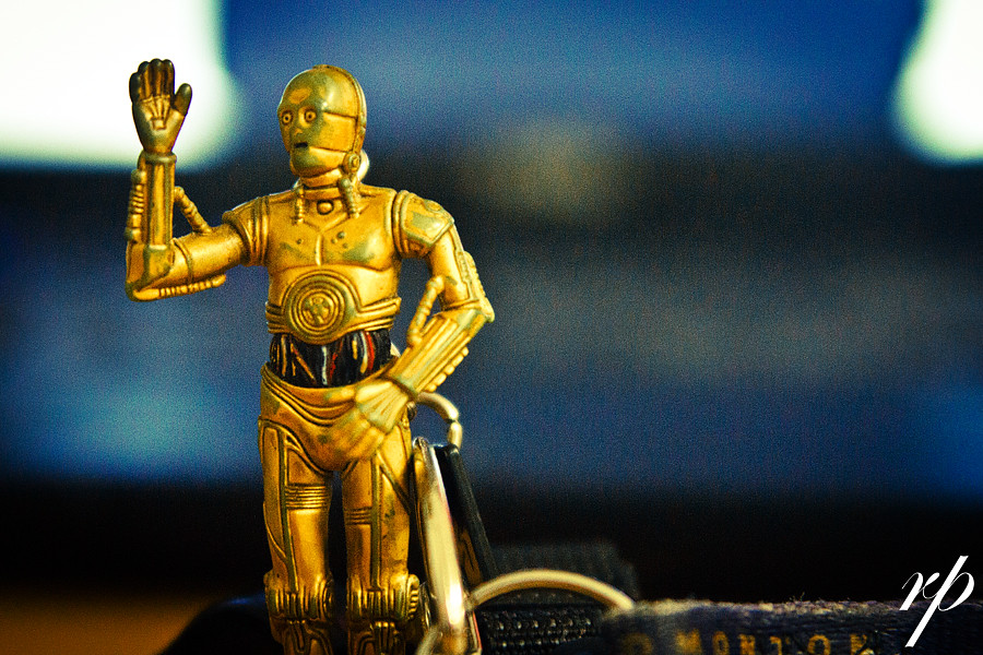 ~ 179/365 C3PO Waving Goodbye to the School Year ~