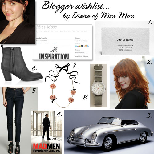 Miss Moss wishlist