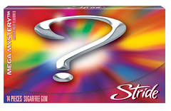 Stride® Mega Mystery™ (Stride Gum) Tags: gum stride longlasting stridegum megamystery ridiculouslylonglasting stridemystery mysterygum