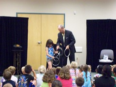 ys-srp-kick-off 010 (eg_library) Tags: magician summerreadingprogram eastgreenbushlibrary jimsnack
