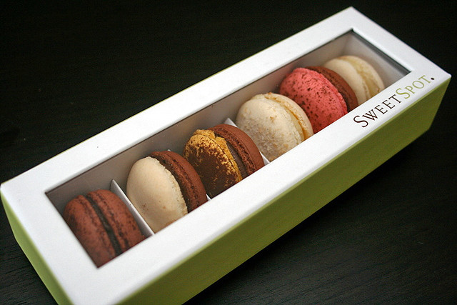 Macarons from Sweet Spot at Marina Bay Sands