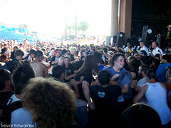 The Casualties' pit. (Trevor Edwards.) Tags: arizona phoenix rock circle punk warpedtour pit vans thecasualties