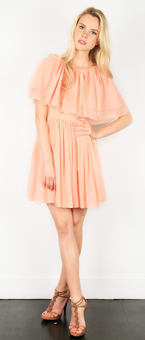 THREAD_RESORT2011_09-crinkled silk cotton easy capelet dress