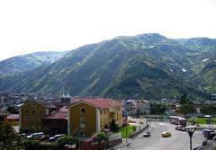 Banos mountain view