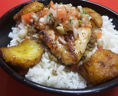Latin mix chicken chop