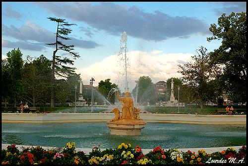 Aranjuez Royal Palace Main Fountain - HDR