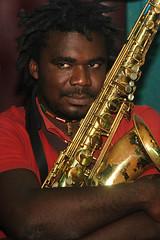 Izy. Rehearsals at Studio 247, Abidjan-Yopougon, 26.06.2010 (0887)