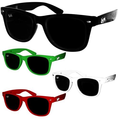 oculos wayfarer coloridos