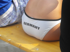 Sexy Germany (Luelle2009) Tags: city party summer girl beauty sunshine germany fun football europe weltmeisterschaft stadt wm2010