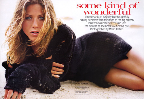 Some Kind Of Wonderful_1 (Vogue, August 2002 US Jennifer Aniston, P-Mario Testino)