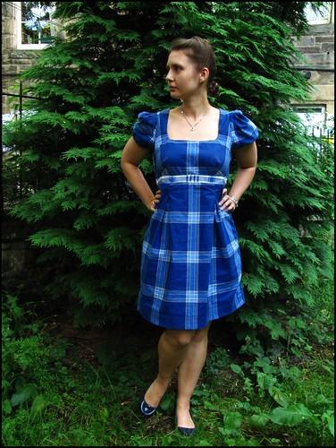 Dave made me a dress!