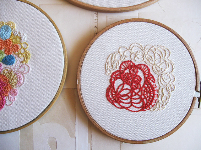 color embroidery