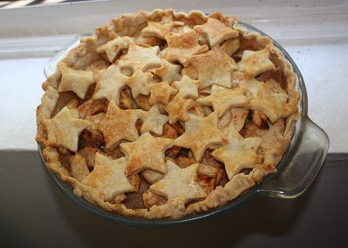 Fourth of July Apple Pie