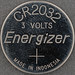 CR2032 Energizer 3 VOLTS