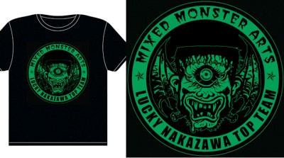 LuckyNakazawa Mixed Monster Arts T-Shirt