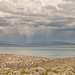 Clouds Over Mono Lake from Panum Crater