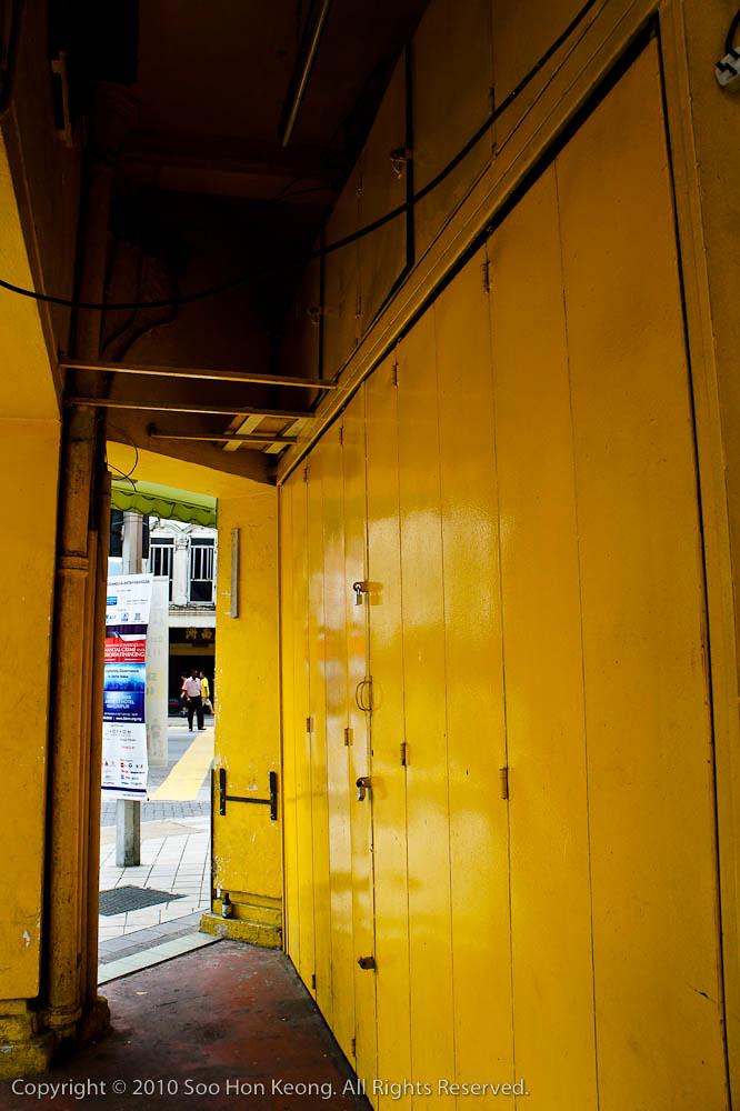 Yellow Path @ KL, Malaysia