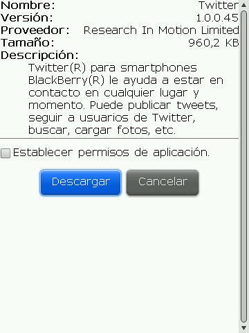 Twitter 4 Blackberry