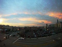 GoPro Chicago Sunset (jeff.minarik) Tags: sunset sky chicago storm color tower weather clouds sears willis