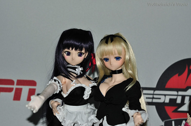 Volks Dollfie Dream ドルフィー DD娃娃 Kiriha Kuze 紅瀬桐葉 in ESPN Zone